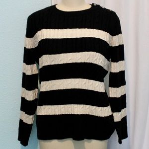 Charter Club Striped Sweater
